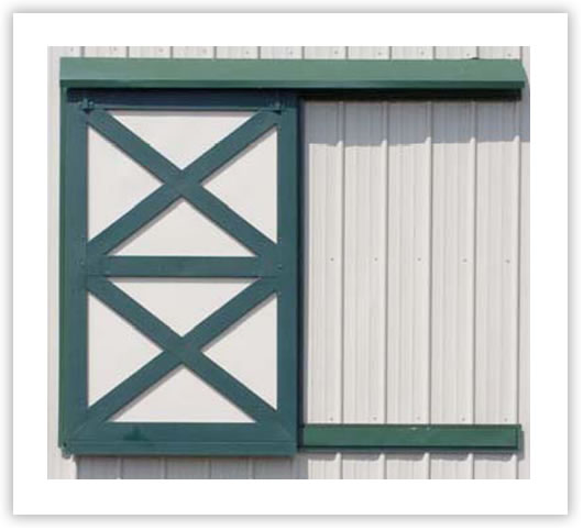 Horse barns: bdutch door