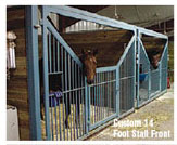 Horse stall doors. Custom 14-foot Stall Front